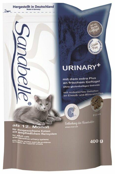 Корм для кошек Sanabelle для профилактики МКБ 400 г