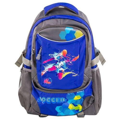 Рюкзаки и сумки для мальчиков КОТОФЕЙ 02704061-30 размер выс.46 см. цвет сер-син dickies рюкзаки и сумки на пояс