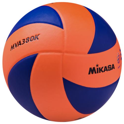 Волейбольный мяч Mikasa MVA380K сине-оранжевый