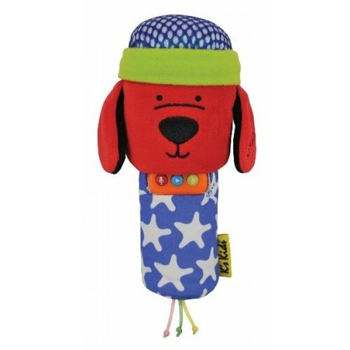 Купить Интерактивная развивающая игрушка K's Kids Караоке Патрик синий/зеленый/красный, Развивающие игрушки