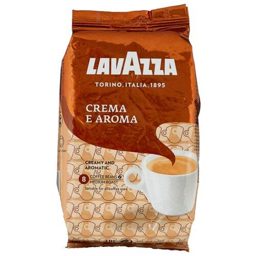 цена Кофе в зернах Lavazza Crema e Aroma, арабика/робуста, 1000 г онлайн в 2017 году