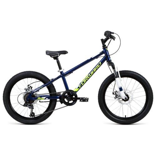 цена на Подростковый горный (MTB) велосипед FORWARD Unit Pro 20 Disc (2019) синий 10.5