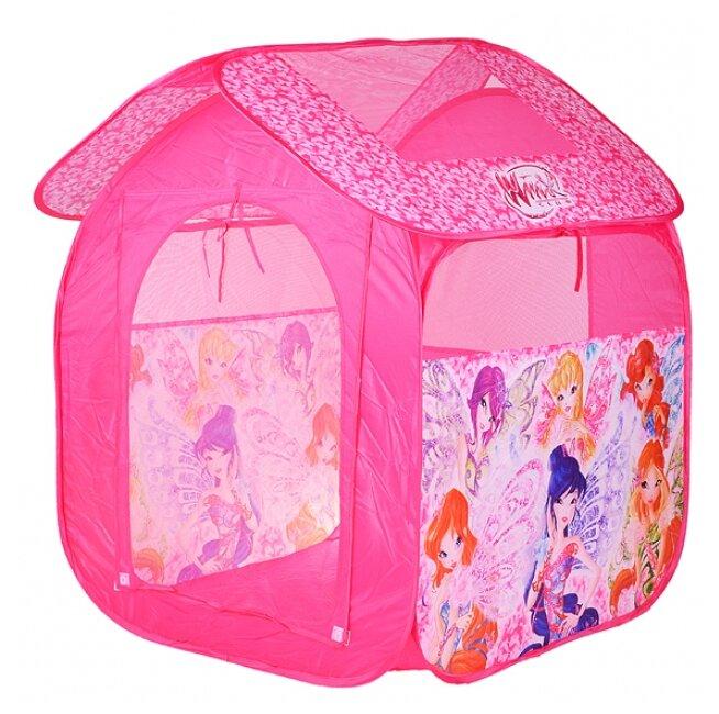 Палатка Играем вместе Winx квадрат в сумке GFA-WX-R