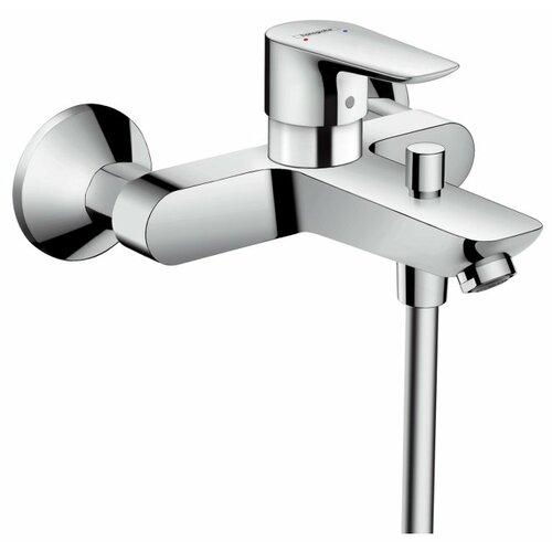 Фото - Смеситель для ванны с подключением душа hansgrohe Talis E 71740000 однорычажный комплект смесителей hansgrohe talis e 71740000 71712000