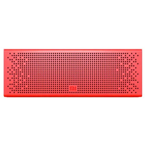 Портативная акустика Xiaomi Mi Bluetooth Speaker красный портативная акустика xiaomi mi outdoor bluetooth speaker черный
