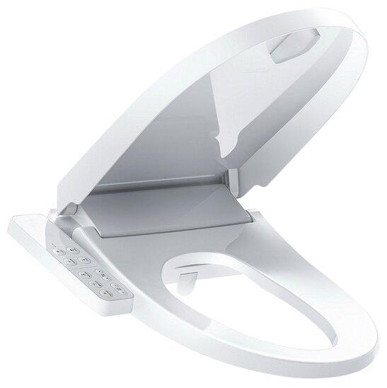 Крышка-сиденье для унитаза Xiaomi Smartmi Smart Toilet Cover с микролифтом — купить по выгодной цене на Яндекс.Маркете в Москве