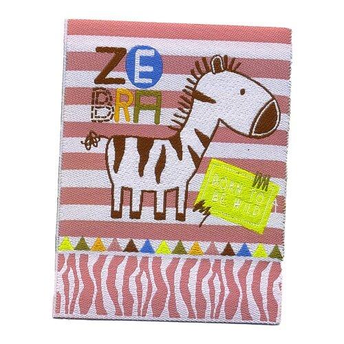 Купить Термоаппликация HKM Зебра, 1 шт 8, 5 х 6, 5 см, HKM Textil, Декоративные элементы
