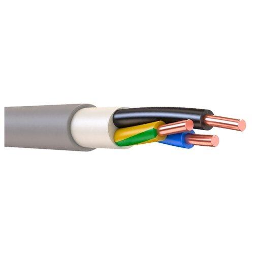 Фото - Кабель NYM 3х1.5 кв. мм (20 м) ПАРТНЕР ЭЛЕКТРО ГОСТ серый кабель партнер электро nym 3х1 5 гост 100м