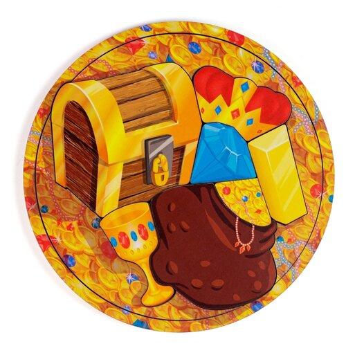 Рамка-вкладыш PAREMO Сокровища (PE720-08), 6 дет. оранжевый пазл paremo лев pe720 66 6 дет