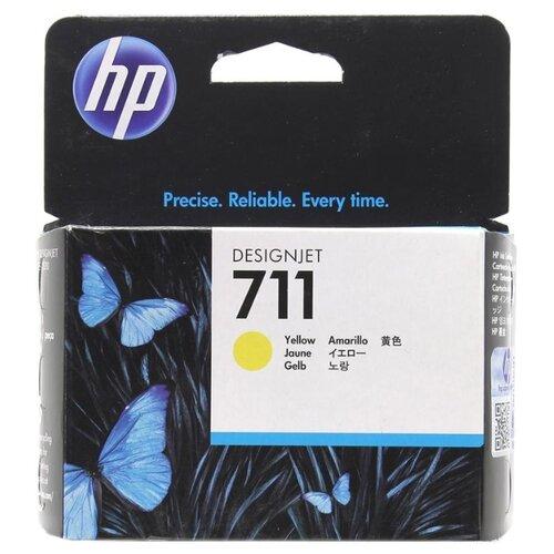 Фото - Картридж ориг. HP CZ132A (№711) желтый для DesignJet T120/T520 (29мл), цена за штуку, 186488 картридж ориг hp c9722a желтый для color lj 4600 4650 8стр цена за штуку 83733