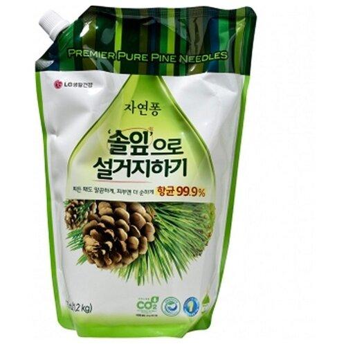 LG H&H Natural Pong Жидкое средство для мытья посуды Forest 1.2 л трикотаж h