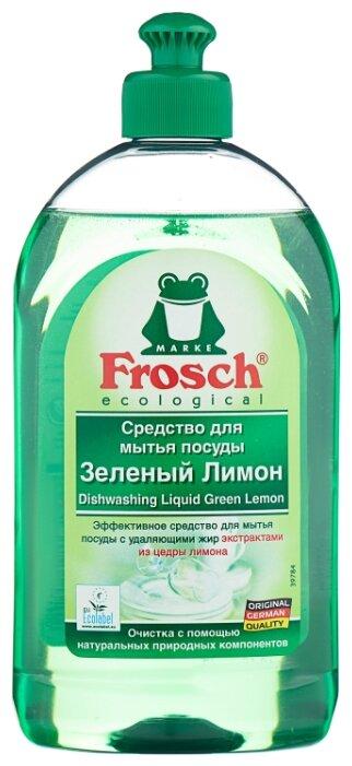 Frosch Средство для мытья посуды Зелёный лимон 0.5 л