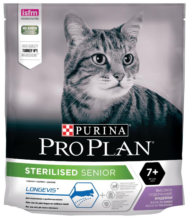 Корм для стерилизованных пожилых кошек Pro Plan