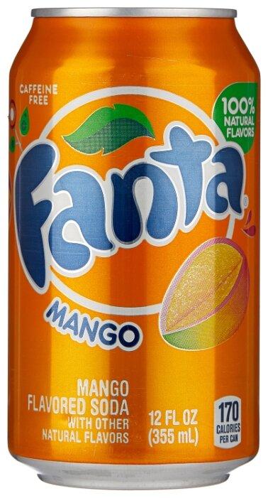 Газированный напиток Fanta Mango, США — купить по выгодной цене на Яндекс.Маркете