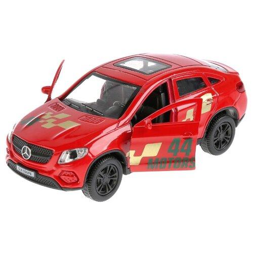Купить Легковой автомобиль ТЕХНОПАРК Mercedes-Benz Gle Coupe Спорт (GLE-COUPE-S) 12 см красный, Машинки и техника