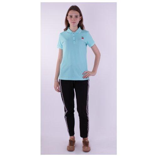 Купить Поло Jewel Style размер 164-44-36, светло-бирюзовый, Футболки и майки