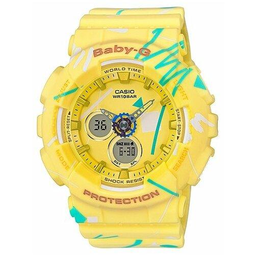 Наручные часы CASIO BA-120SC-9A casio часы casio mtp e303sg 9a коллекция analog