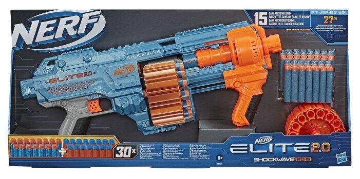 Бластер Nerf Elite 2.0 Shockwawe RD-15 (E9527)