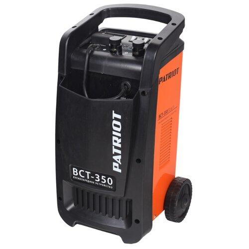 Пуско-зарядное устройство PATRIOT BCT-350 Start черный/оранжевый пуско зарядное устройство airline ajs chj 100 оранжевый