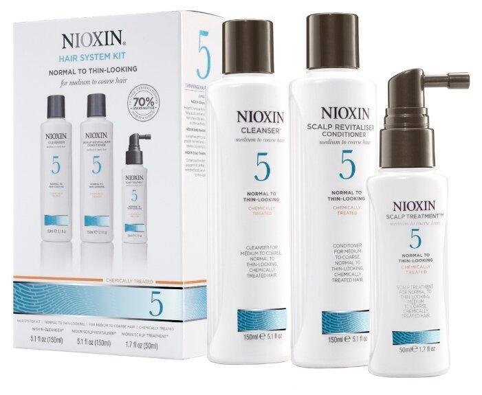 Nioxin Cleanser System 5 - Очищающий шампунь (Система 5), 300 мл