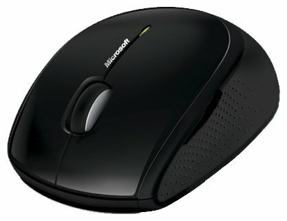 Мышь Microsoft Wireless Optical Mouse 5000 Blue Track USB