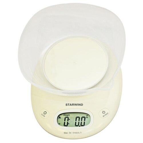 Кухонные весы STARWIND SSK4171 белый весы кухонные starwind ssk2259 желтый