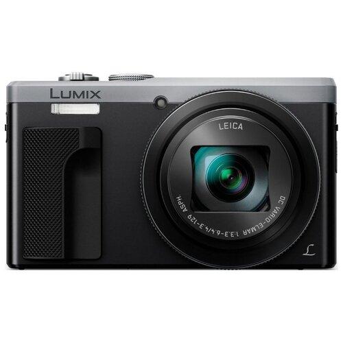 Фото - Фотоаппарат Panasonic Lumix DMC-ZS60/TZ80 серебристый фотоаппарат panasonic lumix dmc g7kee s kit lumix g vario 14 42мм f3 5 5 6 asph mega o i s серебристый черный