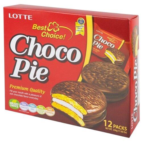 Пирожное Lotte Confectionery Choco Pie 336 г