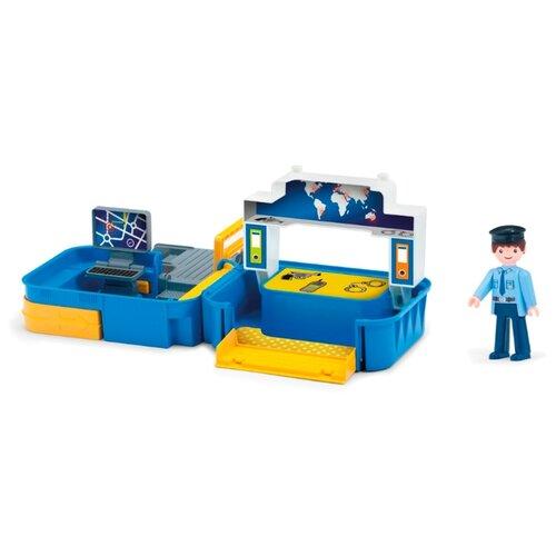 Купить Игровой набор Efko Полиция с фигуркой полицейского в чемоданчике 32212EF-CH, Игровые наборы и фигурки