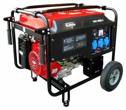 Бензиновый генератор ELITECH БЭС 6500 Е (5000 Вт)