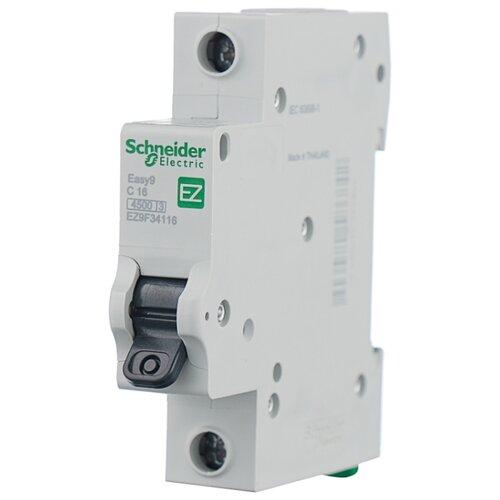 Автоматический выключатель Schneider Electric Easy 9 1P (C) 4,5kA 63 ААвтоматические выключатели<br>