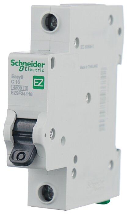 Автоматический выключатель Schneider Electric Easy 9 1P (C) 4,5kA