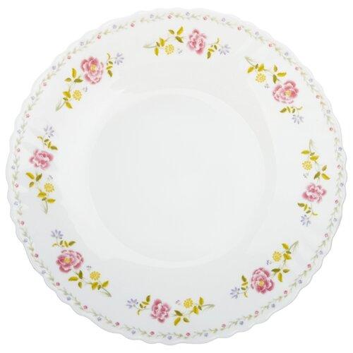 Millimi Тарелка десертная Диана 19 см белый rosenthal versace ikarus medusa десертная тарелка 11 5 см