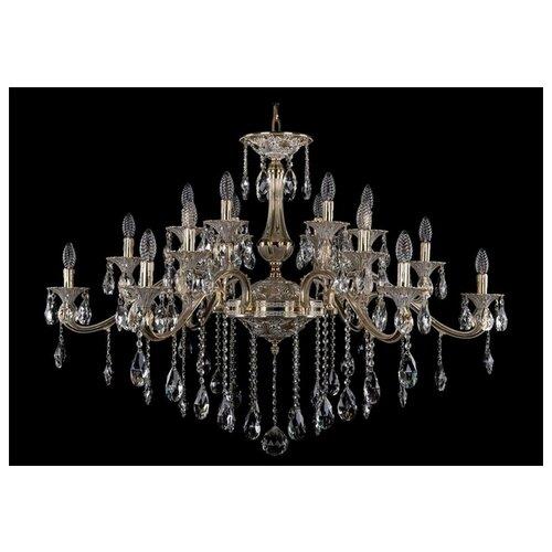 Люстра Bohemia Ivele Crystal 1709/18/410/B/GW, E14, 720 Вт