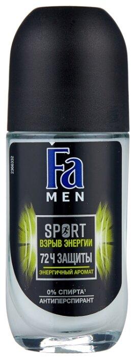 Антиперспирант ролик Fa Men Sport Взрыв энергии