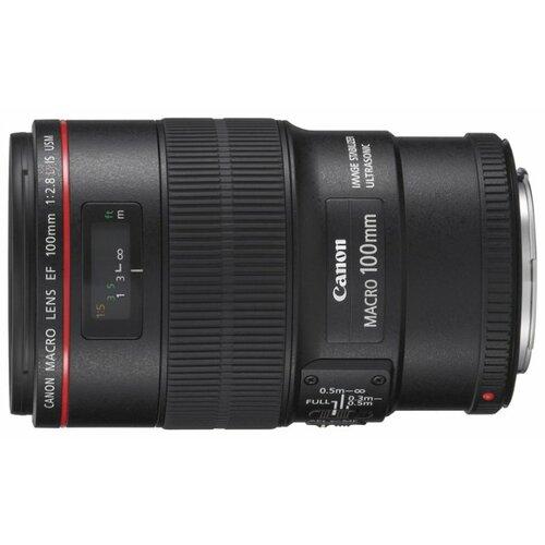Фото - Объектив Canon EF 100mm f/2.8L Macro IS USM объектив