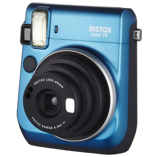 Фото - Фотоаппарат моментальной печати Fujifilm Instax Mini 70 blue фотоаппарат