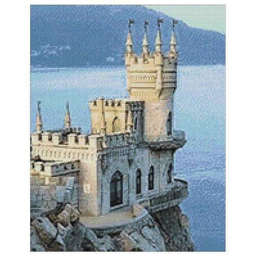 Гранни Алмазная мозаика Ласточкино гнездо (ag087) 38x48 см