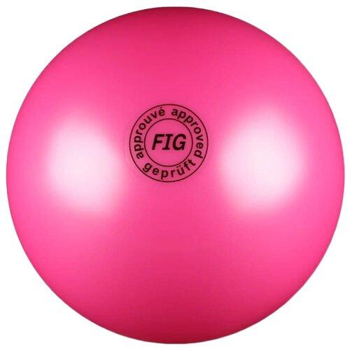 Мяч для художественной гимнастики Indigo AB2801 фуксия
