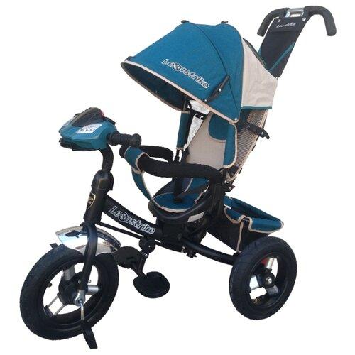 Купить Трехколесный велосипед Shantou City Daxiang Plastic Toys Lexus Trike 950M2-N1210-TXT бирюзовый, Трехколесные велосипеды