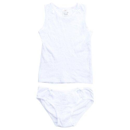 Комплект нижнего белья playToday размер 92, белый комплект нижнего белья ibala размер 30 92 98 белый розовый красный
