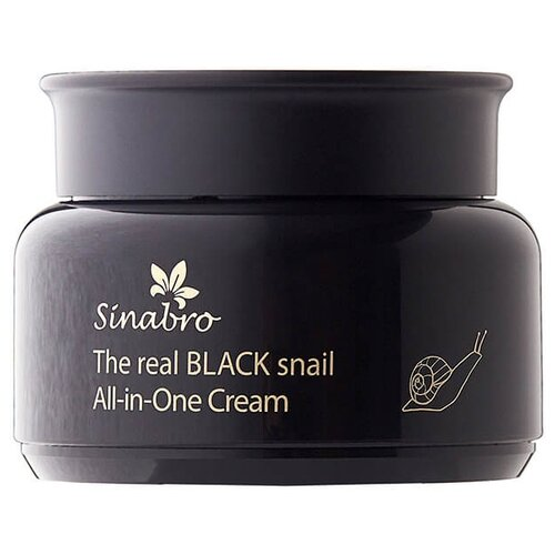 Sinabro The Real Black Snail All-in-one Cream Крем для лица, 100 мл
