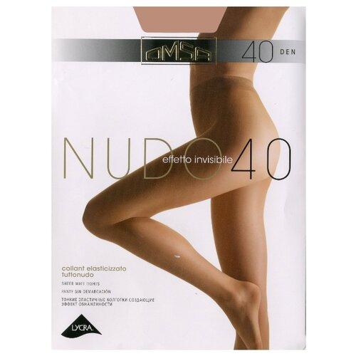 Колготки Omsa Nudo 40 den, размер 3-M, daino колготки omsa nudo размер 3 плотность 40 den daino