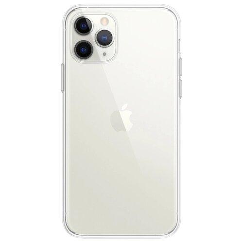 Купить Чехол Gurdini для Apple iPhone 11 Pro Max (силикон плотный прозрачный) бесцветный