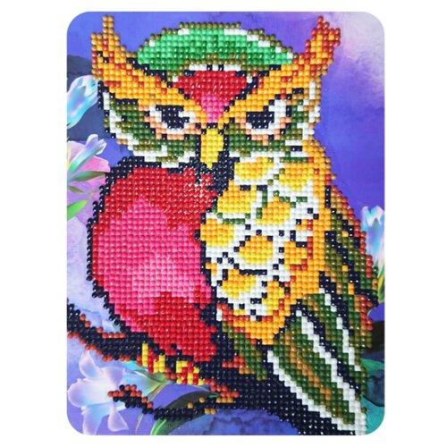 Color Kit Набор алмазной вышивки Сова и магнолии (M014) 17х21 смАлмазная вышивка<br>