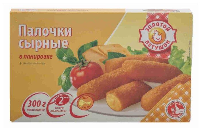 Золотой Петушок Сырные палочки в панировке 300 г
