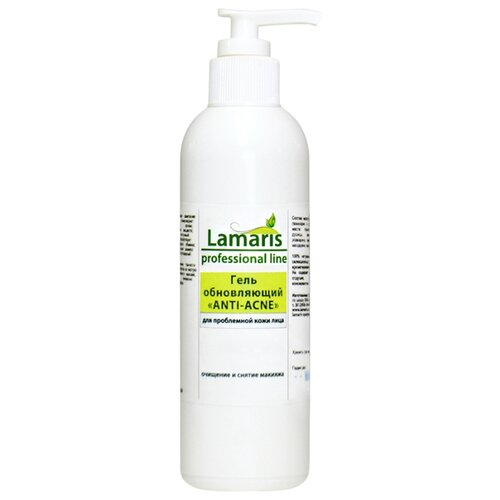 Купить Lamaris Гель обновляющий для проблемной кожи Anti-Acne, 200 мл