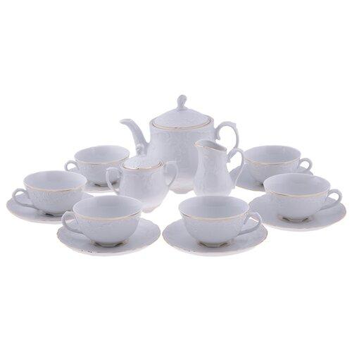 цена на Чайный сервиз Cmielow Rococo (Золотая Линия) 15 предметов