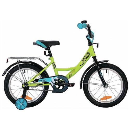 Детский велосипед Novatrack Vector 18 (2019) зеленый (требует финальной сборки)