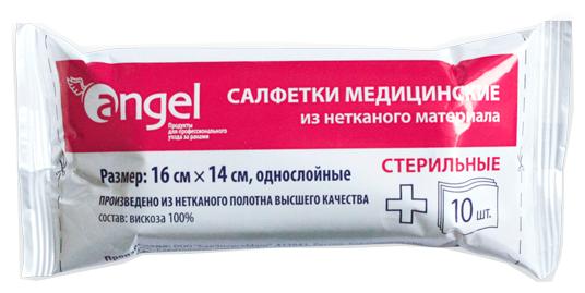 Angel салфетки медицинские стерильные из нетканого материала